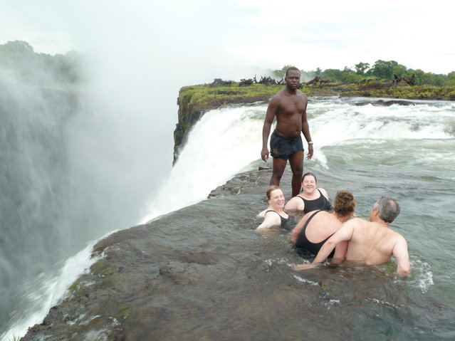 Devil's Pool, Victoria Falls. (Photo by Aasny)
