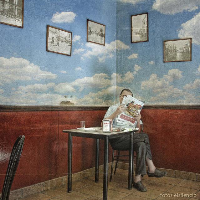 """""""Viajar en tiempos de crisis (A different way of travel)"""". (Jaime Lluch)"""