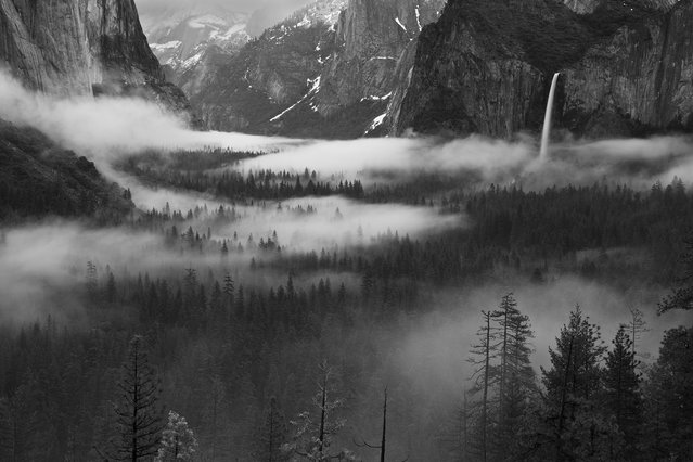 """Yosemite Valley"". It was an early morning in April of 2011. I went to the Tunnel View of the Yosemite National Park. Fog was floating in the Yosemite Valley, making it such a wonderful spectacle. Location: Yosemite Valley, California, USA. (Photo and caption by Hong Zeng/National Geographic Traveler Photo Contest)"