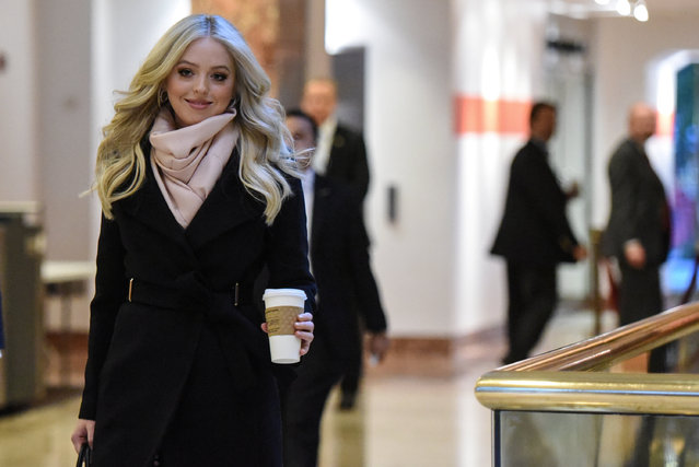 Tiffany Trump passes through the lobby at Trump Tower in New York City, U.S. January 19, 2017. (Photo by Stephanie Keith/Reuters)