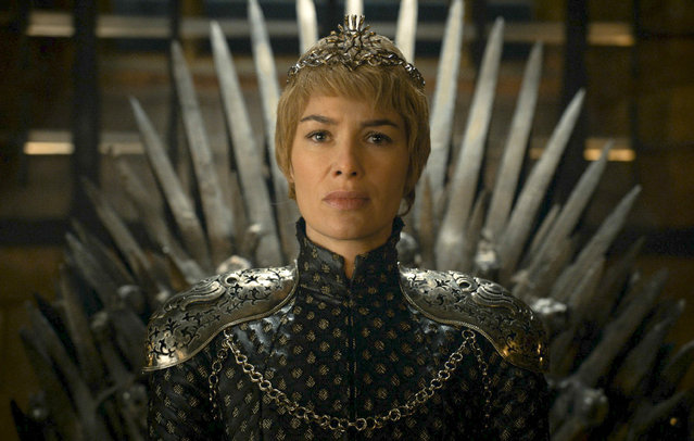 "This image released by HBO shows Lena Headey as Cersei Lannister in a scene from  ""Game of Thrones"". (Photo by HBO via AP Photo)"
