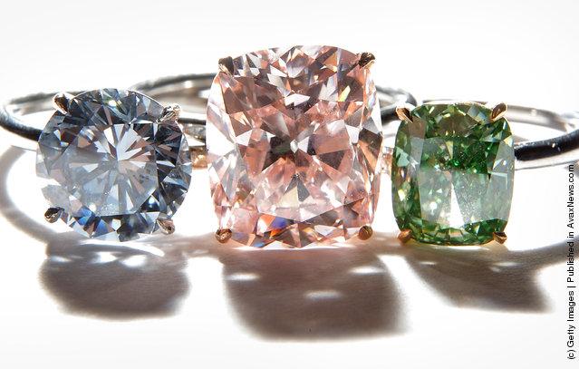 A collection of rare diamond