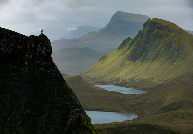 Quiraing on Isle of Skye. (Photo by Paul Zizka/Caters News Agency)