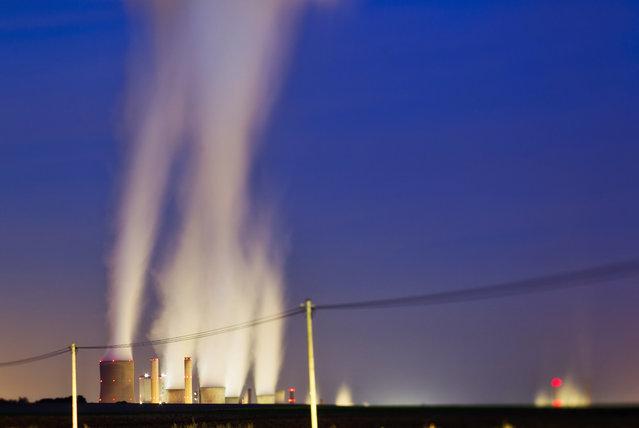 Power plant Niederaussem, Germany. (Photo by Radek Kalhous/Caters News)