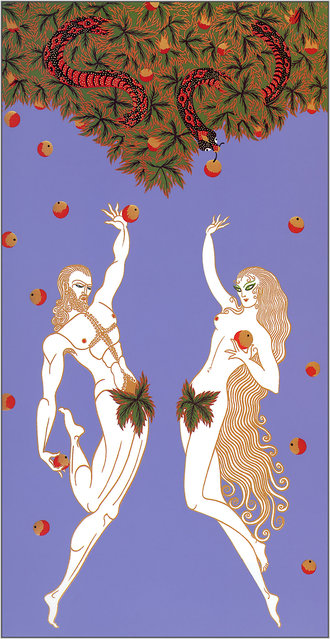Romain de Tirtoff (Erte) – Adam and Eve