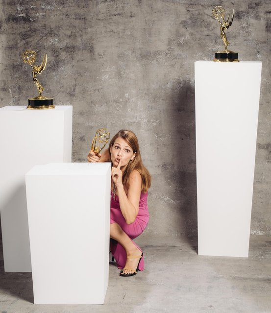 Suzanne Cryer poses for a portrait at the Television Academy's 67th Emmy Awards Performers Nominee Reception at the Pacific Design Center on Saturday, September 19, 2015 in West Hollywood, Calif. (Photo by Casey Curry/Invision for the Television Academy/AP Images)