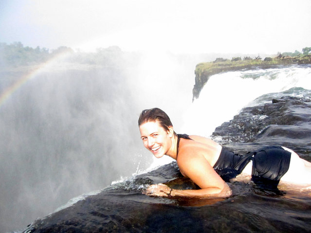 Devil's Pool – Victoria Falls, Zambia. (Photo by Siena College Study Abroad)