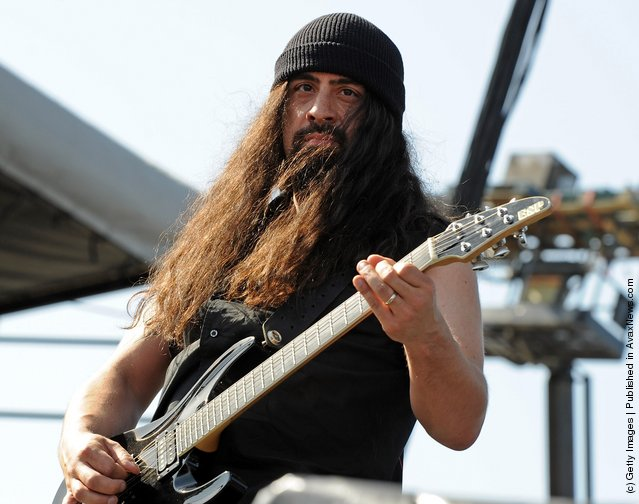 Musician Rob Caggiano of Anthrax