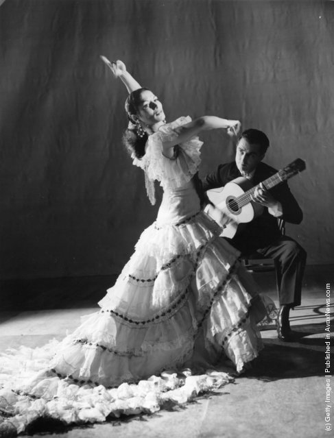 Flamenco dancer Carmen Amaya