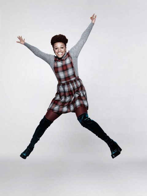 Undated handout photo issued by Oxfam of Gemma Cairney who took part in a photo shoot with top photographer Rankin for Oxfam's Lift Lives for Good campaign. (Photo by Rankin/PA Wire)