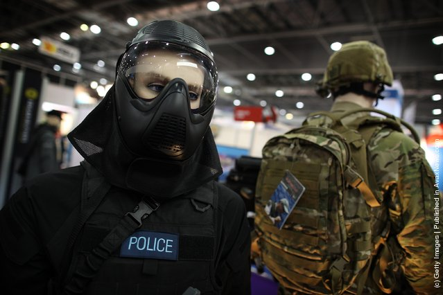 Police and military protective uniforms