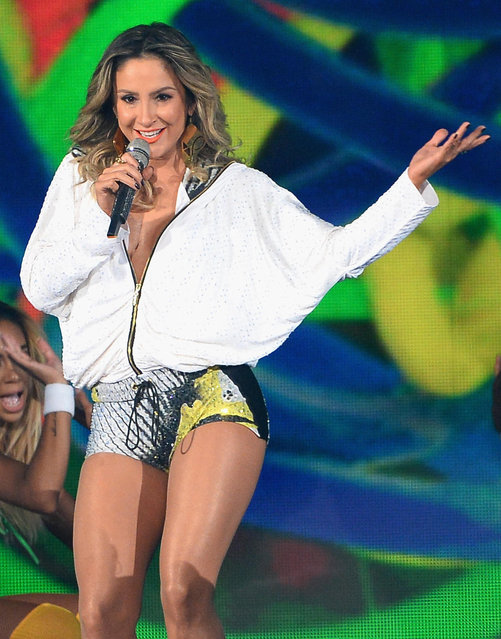 Recording artist Claudia Leitte performs onstage during the 2014 Billboard Music Awards at the MGM Grand Garden Arena on May 18, 2014 in Las Vegas, Nevada. (Photo by Ethan Miller/Getty Images)