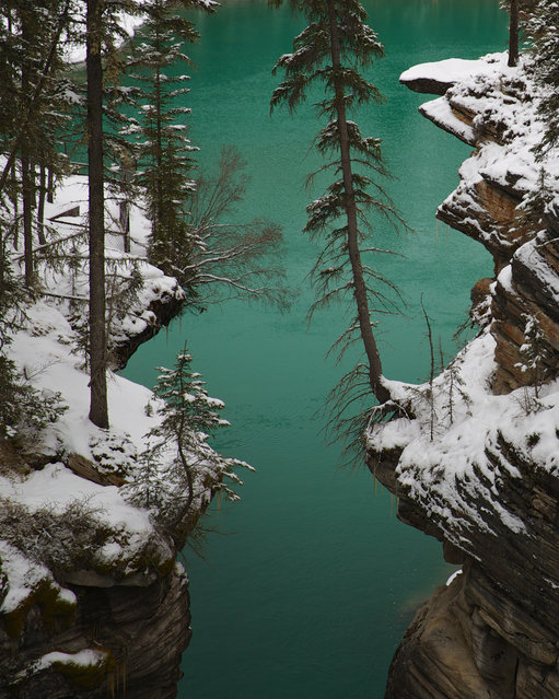 """Glacier Green"". Spring Thaw in the Canadian Rockies. Location: Jasper National Park in Alberta Canada. (Photo and caption by Gary Migues/National Geographic Traveler Photo Contest)"