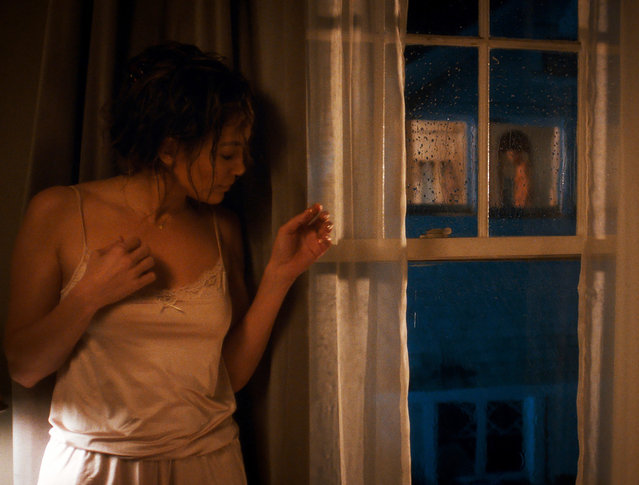 """This photo released by Universal Pictures shows Jennifer Lopez as Claire Peterson in a scene from the film, """"The Boy Next Door"""". (Photo by Suzanne Hanover/AP Photo/Universal Pictures)"""
