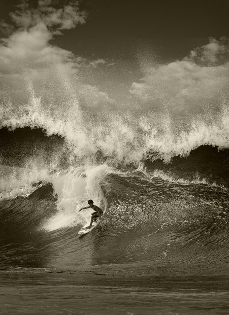 North Shore Surfing By Ed Freeman