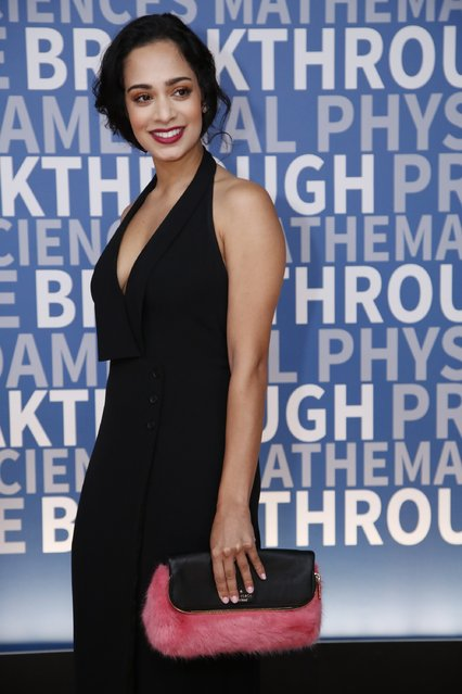 Actress Devika Bhise attends the 2017 Breakthrough Prize at NASA Ames Research Center on December 4, 2016 in Mountain View, California. (Photo by Kimberly White/Getty Images for Breakthrough Prize)