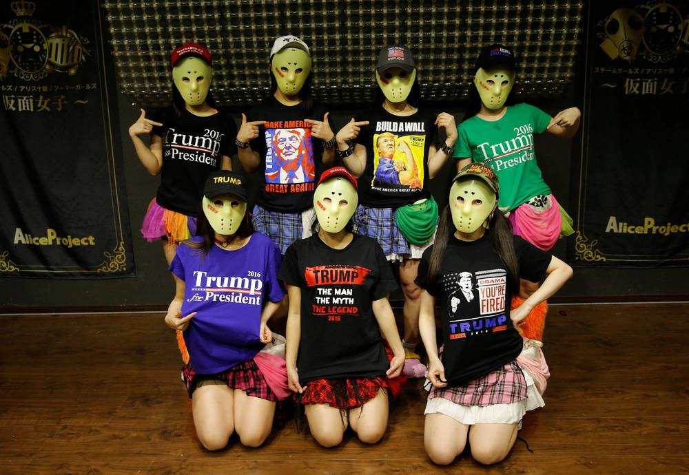 J-Pop's Masked Idols Supports Trump
