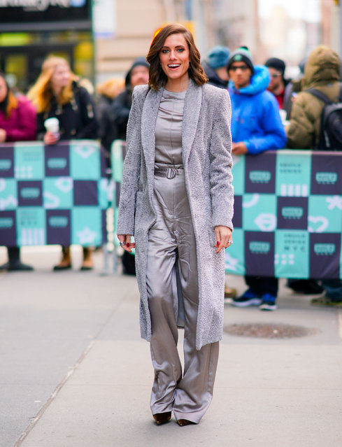 Allison Williams at AOL Build studios on January 7, 2019 in New York City. (Photo by Gotham/GC Images)