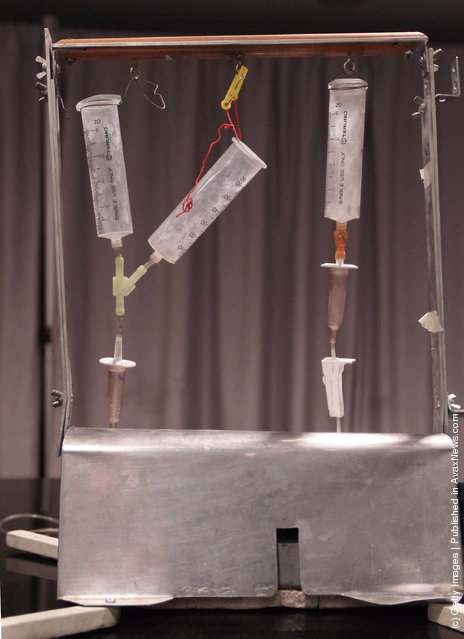 The Thanatron, often referred to as the Death Machine of Dr. Jack Kevorkian
