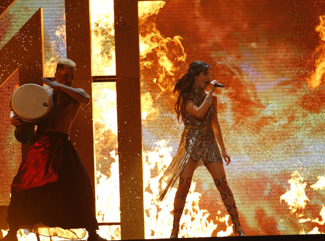 Camila Cabello performs onstage during the 2017 Billboard Music Awards at T-Mobile Arena on May 21, 2017 in Las Vegas, Nevada. (Photo by Mario Anzuoni/Reuters)