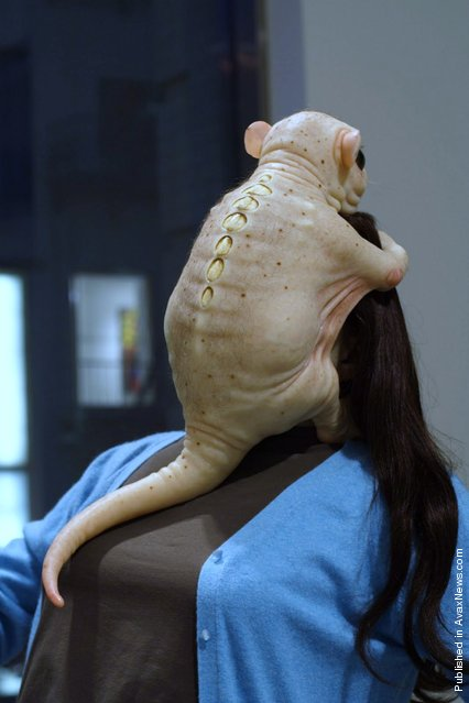 The Embrace by Patricia Piccinini