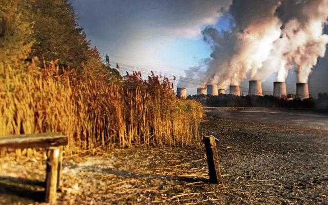 Power station Prunerov. (Photo by Radek Kalhous/Caters News)