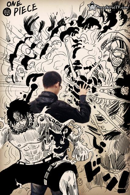 Comic Book Illustrations By Gaikuo-Captain Part 1