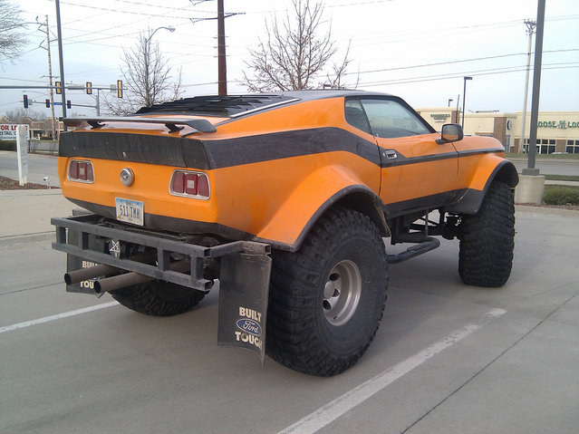 Unusual Monster Truck