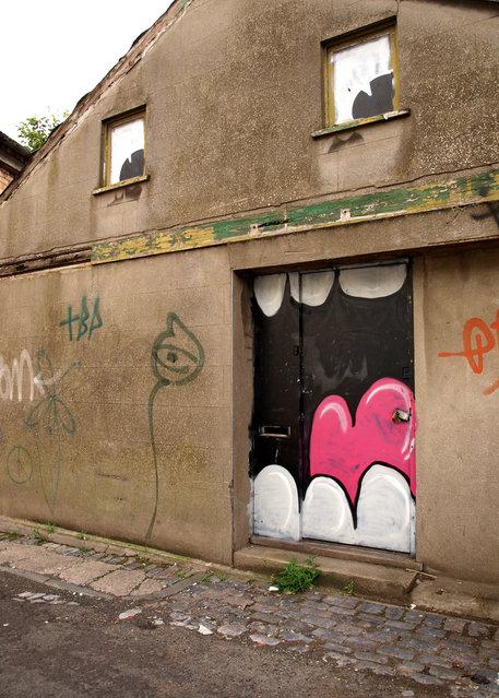 """Filthy Luker"". Bristol, 2010. (Photo by Alex Ellison)"