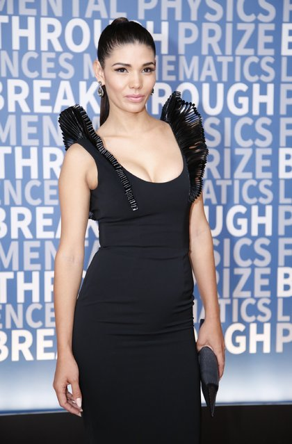 Model Paloma Jiménez attends the 2017 Breakthrough Prize at NASA Ames Research Center on December 4, 2016 in Mountain View, California. (Photo by Kimberly White/Getty Images for Breakthrough Prize)