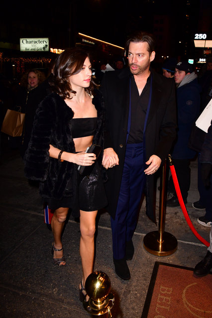 Sarah Kate Connick and Harry Connick Jr. arrive to Feinstein's/54 Below on January 10, 2019 in New York City. (Photo by James Devaney/GC Images)