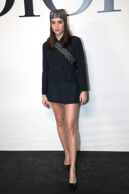 American actress Zoey Deutch attends the Dior Womenswear Spring/Summer 2022 show as part of Paris Fashion Week on September 28, 2021 in Paris, France. (Photo by Bertrand Rindoff Petroff/Getty Images)