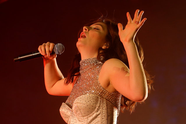 Lorde performs during the Coachella Valley Music and Arts Festival on April 17, 2017 in Indio, California. (Photo by Carlo Allegri/Reuters)