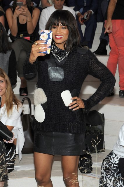 Ciara attends the Coach Women's Spring 2016 fashion show during New York Fashion Week on September 15, 2015 in New York City. (Photo by Brad Barket/Getty Images for Coach)