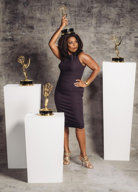 Lorraine Toussaint poses for a portrait at the Television Academy's 67th Emmy Awards Performers Nominee Reception at the Pacific Design Center on Saturday, September 19, 2015 in West Hollywood, Calif. (Photo by Casey Curry/Invision for the Television Academy/AP Images)