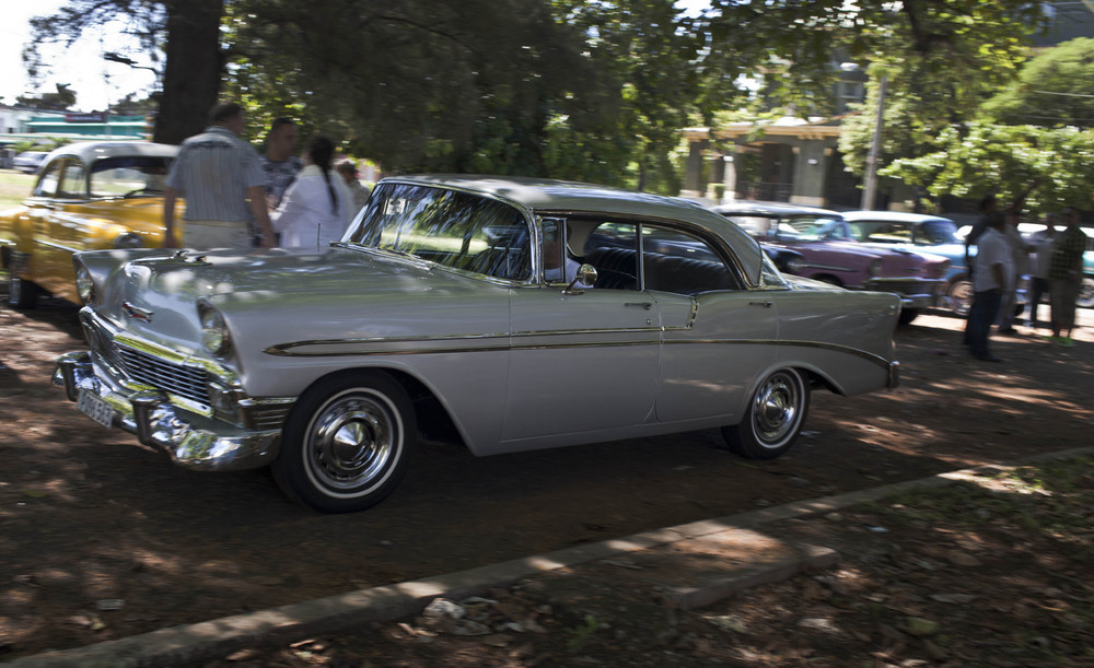 New Gloss on Cuba's Classic Cars