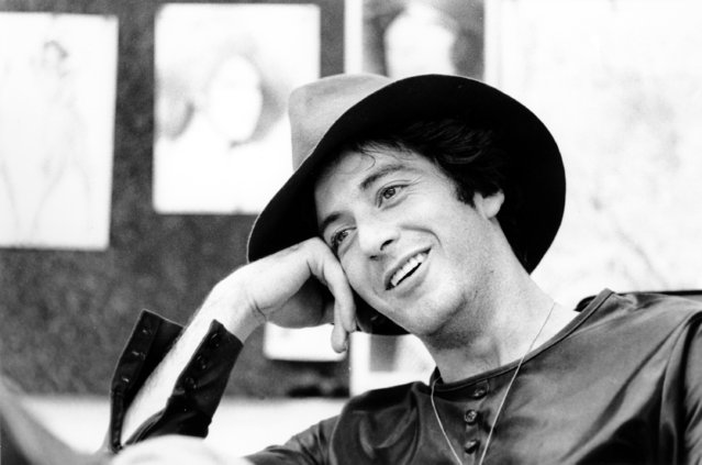 Actor Al Pacino smiles during an interview in New York City on September 21, 1973. (Photo by AP Photo)