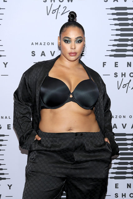 In this image released on October 1, Tabria Majors attends Rihanna's Savage X Fenty Show Vol. 2 presented by Amazon Prime Video at the Los Angeles Convention Center in Los Angeles, California; and broadcast on October 2, 2020. (Photo by Jerritt Clark/Getty Images for Savage X Fenty Show Vol. 2 Presented by Amazon Prime Video)