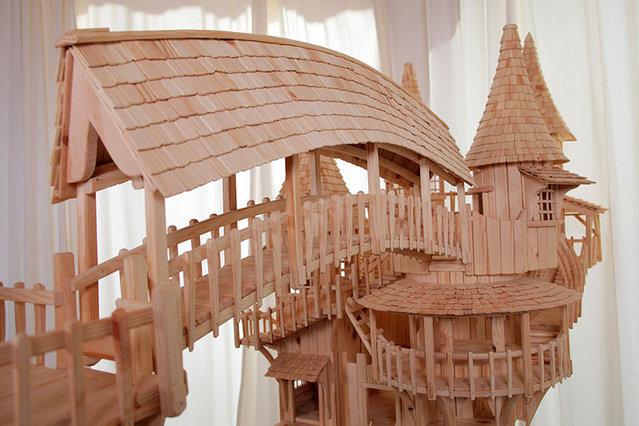 Rob Heard's Wooden Bough House
