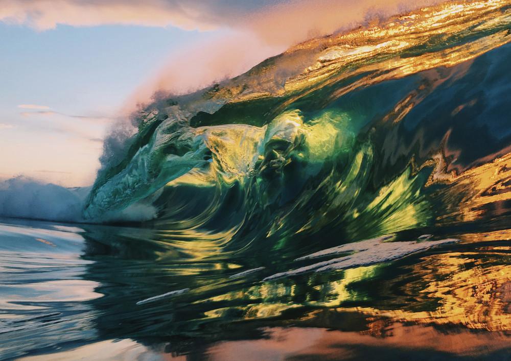 Vibrant Wave Photography
