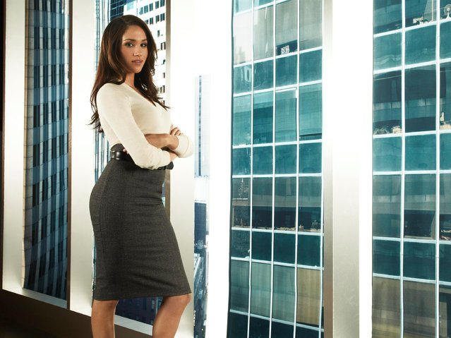 "Meghan Markle as Rachel Zane in ""Suits"", Season 1, 2011.  (Photo by: Frank Ockenfels/USA/NBCU Photo Bank via Getty Images)"