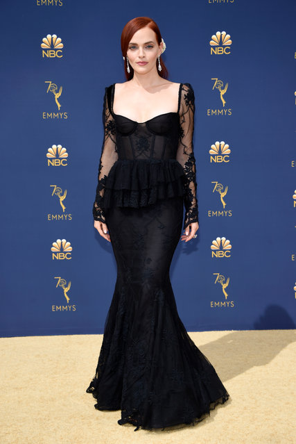 Madeline Brewer attends the 70th Emmy Awards at Microsoft Theater on September 17, 2018 in Los Angeles, California. (Photo by Kevin Mazur/Getty Images)