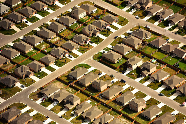 Texas suburbs. (Photo by Jassen Todorov/Caters News)