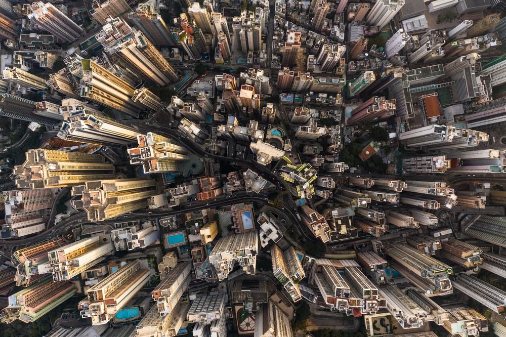 Aerial Views across Hong Kong
