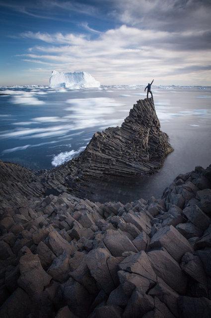 Qeqertarsuaq; Kuannit, Greenland. (Photo by Paul Zizka/Caters News Agency)