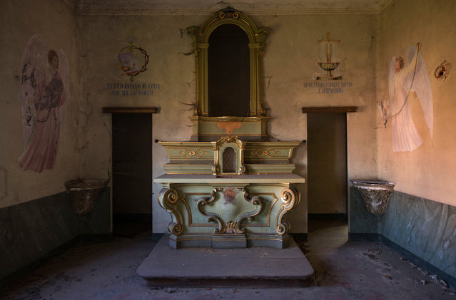 Abandoned Orphanage. (Photo by Gaz Mather/Cater News)