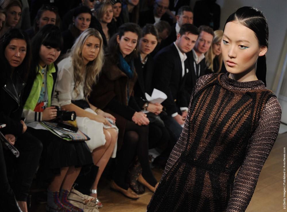 Craig Lawrence Runway – London Fashion Week Autumn/Winter 2012