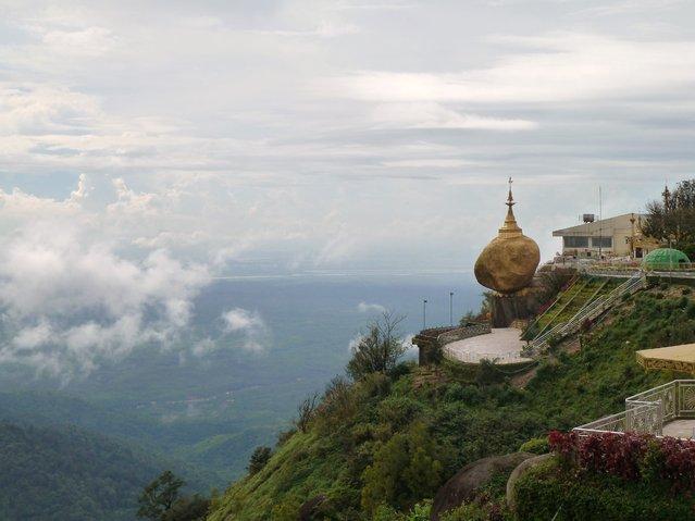 Kyaiktiyo Pagoda (also known as Golden Rock)