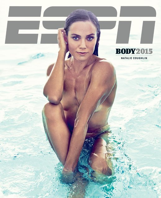 Natalie Coughlin in ESPN's The Body Issue 2015. ESPN The Magazine's The Body Issue set out seven years ago with one mission: to celebrate and explore the athletic form through powerful images and interviews. The cornerstone of each annual issue is The Bodies We Want photo portfolio, which features roughly 20 of the world's most elite athletes posing nude. (Photo by Williams + Hirakawa for ESPN)