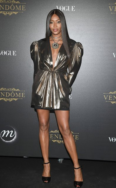 Naomi Campbell attends the Vogue Party as part of the Paris Fashion Week Womenswear Spring/Summer 2018 at Le Petit Palais on October 1, 2017 in Paris, France. (Photo by Pascal Le Segretain/Getty Images)